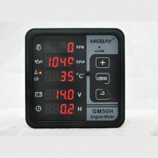 Generator Panel Meter Digital Multi-Function Meter Diesel Engine Monitor Control Panel
