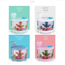 460ML USB Air Humidifier with LED Night Light Air Humidifier Essential Oil Aroma Diffuser Mist Maker Atomizer