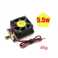 5.8G Wireless AV Transmitter Signal Booster Amplifier 5W/6W For FPV RC Model
