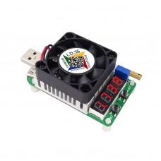USB Electronic Load Resistor Discharge Battery Test Adjustable Current Voltage LD25 4A/25V/25W