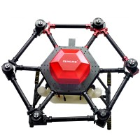 6-Axis Agricultural Spraying Drone Pesticide Fertilizer Frame + 10KG Spray System
