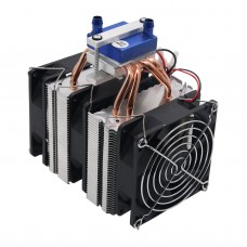12V Thermoelectric Cooler Refrigeration 120W Water Chiller DIY Cooling System  for 30L Fish Tank