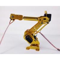 6 Axis Robot Arm Mechanical Robot Arm ABB Industrial Robot Arm Free Manipulator with Servos