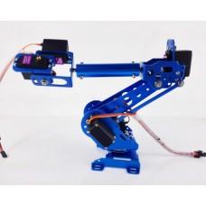 6 Axis Robot Arm Mechanical Robot Arm ABB Industrial Robot Arm Free Manipulator w/ MG996R Servos