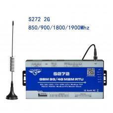 S272 GSM GPRS 2G RTU Remote Controller Modbus Data Logger SMS Alert