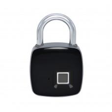Rechargeable Fingerprint Padlock Keyless Smart Door Lock Micro USB Port