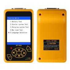 AUTOOL BT460 Car Battery Tester Analyzer 12V 24V Car Automotive Charge Cranking Analyzer