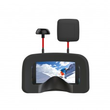 5 Inches FPV Goggles 800*480 HD 40CH 5.8G Adjustable with DVR Lens
