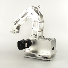 3 Axes Metal Robot Arm Robotic Claw Clamp Mechanical Manipulator Android WiFi Control Toys