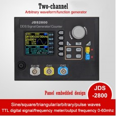 JDS2800-60MHz Signal Generator Digital Dual-Channel DDS Signal Generator Frequency Meter Arbitrary
