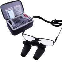 4.0x Binocular Dental Loupes Surgical Medical Dentistry Nickel Alloy Frame Magnifier