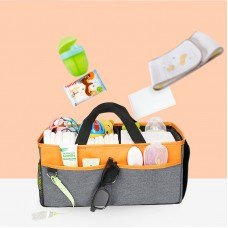 Foldable Baby Diaper Caddy Organizer for Changing Table Baby Shower Gift Toys Car Travel Organizer