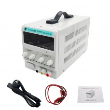 0-30V 0-10A Adjustable DC Power Supply Stabilizer CC CV QW-MS3010D