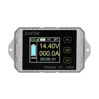 Wireless Volmeter Ammeter Digital Capacity Coulomb Counter Bi-Directional 0-100V 0-300A VAT-1300
