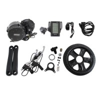 36/48V 350W Bicycle Motor Conversion Kit Mid-Drive with Integrated Controller & C961 LCD Display
