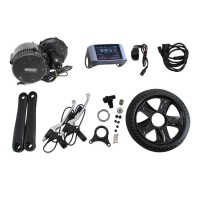 36/48V 350W Bicycle Motor Conversion Kit Mid-Drive with Integrated Controller & 850C LCD Display