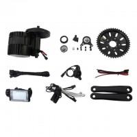 48V 1000W Bicycle Motor Conversion Kit BBSHD Mid Drive Kit 68/90/100/120mm C961/C965 Screen