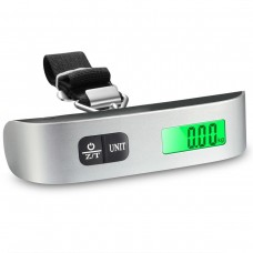 50kg/10g Portable Electronic Digital Hanging Scale Balance LCD Display for Luggage Suitcase