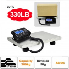 150KG/0.05KG 300KG/0.1KG Digital Shipping Platform Scale Electronic Heavy Duty LCD Display