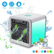 USB Mini Air Cooler Air Conditioner Personal Space Cooler Quick & Easy Way Cool Any Space