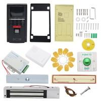 Fingerprint Door Access System RFID Access Control System Kit + 280KG Magnetic Door Lock