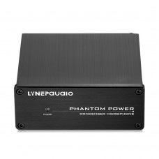48V Pro Condenser Microphone Power Source Phantom Power Source LINEPAUDIO A963