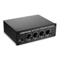 8 Channel Headphone Amplifier Headphone Distributer Signal Amplifier LINEPAUDIO A966