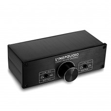 Two Channel Preamp Volume Control Full-balanced Passive Preamp Active Speaker Volume Controller