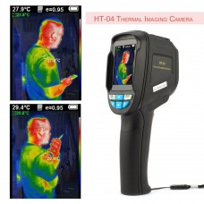HT-04 Infrared Thermal Camera Thermal Imaging Camera 220*160 with 2.4 Inch Color Screen