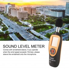 Mini Sound Level Meter LCD Display 30-130dB Instrumentation Noise Decibe HT-90A
