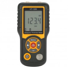 HT-1200 Ultrasonic Thickness Meter Digital LCD Tester Gauge Measuring Tool 1.2-255mm Range