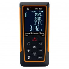 HT-190 Laser Distance Meter 0.05-50M Laser Range Finder Laser Distance Measurer