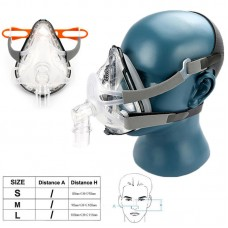 FM1A Nasal Mask CPAP Sleep Apnea Mask Respiratory Mask for CPAP Therapy Headband Full Face