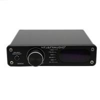 NFJ&FXAUDIO D502 HiFi Digital Power Amplifier 2.1 Subwoofer Decoder for Desktop