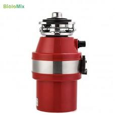 110V Food Waste Disposer Kitchen Sink 1L Capacity Waste Disposal Food Garbage Disposal US Plug