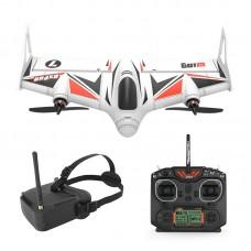 R500 RC Airplane Wingspan EPP FPV Racing Drone (Alt Hold) VTOX YF-W001V2 8CH Remote Control