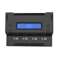 F300 4CH LCD Display Intelligent Smart Battery Charger for LiPo LiHV