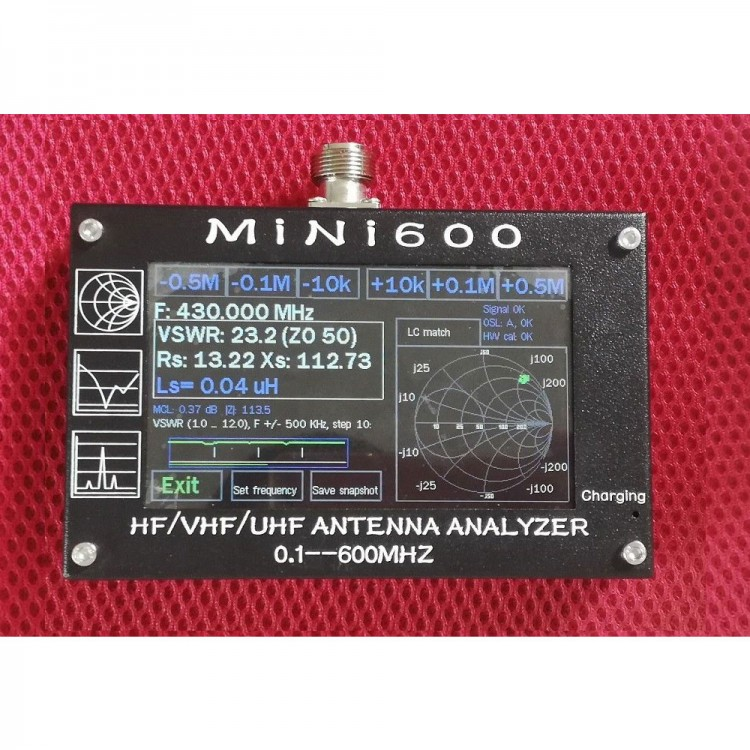 R Antenna Analyzer Meter Battery Bluetooth — ZwiftItaly