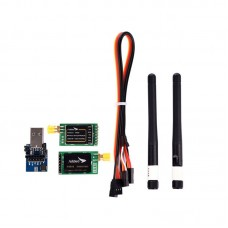 Arkbird Ground Control Station 433MHz Transmitter & Receiver 100mW RC Aircraft Data Transmission Module