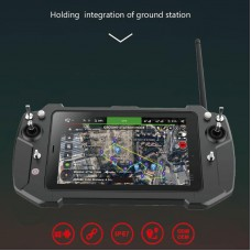 T20 All-in-one Handheld FPV Portable Ground Station 8 inch IPS Dual System Integrated Link Remote Control System