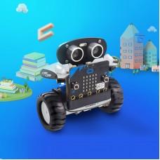 Microbit Robot Kit Programmable Robot RC Car APP Control Web Graphic Program W/ Microbit