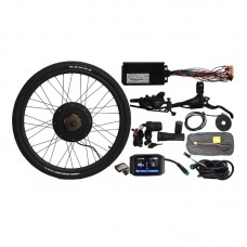 "48V 1500W Front Wheel Electric Bicycle Conversion Kit 20"" 24"" 26"" 27.5"" 28"" 29"" 700C Colorful Screen"