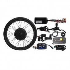 "60V 1000W Front Wheel Electric Bicycle Conversion Kit 20"" 24"" 26"" 27.5"" 28"" 29"" 700C Colorful Screen"