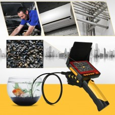 4.3 Inch Industrial Video Inspection 6LED Waterproof Camera Endoscope Snake Borescope