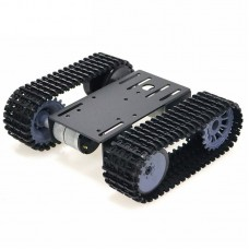 V2.0 New Design mini TP101 Smart Tank Chassis Tracked Chassis Remote Control Platform with Dual DC Motor for DIY Arduino