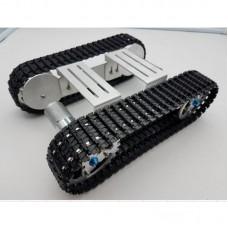 Aluminium Platform Damping Metal Tank Robot Chassis Creative DIY Crawler  for Arduino