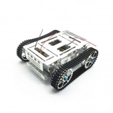 Metal Robot Tank Chassis Crawler Caterpiller Tracked Vehicle For DIY RC Remote Toy Arduino