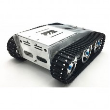 4wd Aluminium Alloy Tank Smart Crawler Robotic Chassis for DIY RC Robot Toy Car