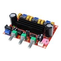 Digital Amplifier Board 2.1Channel TPA3116D2 DC 12-24V Digital Amp Board 2*50W + 100W XH-M139