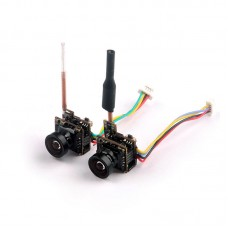 HCF9 FPV Camera 5.8G w/RG178 Antenna 48CH 25mw Transmitter 700TVL 1/4 CMOS Wide Angle NTSC for OSD